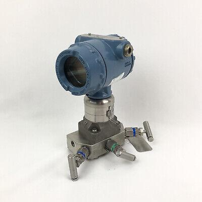 Rosemount 3051s Coplanar Pressure Transmitter Differential 3051s3cd2a2a11a1am5