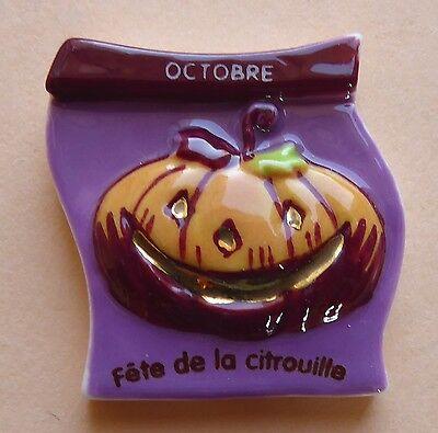 Fève pub Boulangerie Banette 2008 - L' Année Banette : Octobre : Halloween - Octobre Halloween