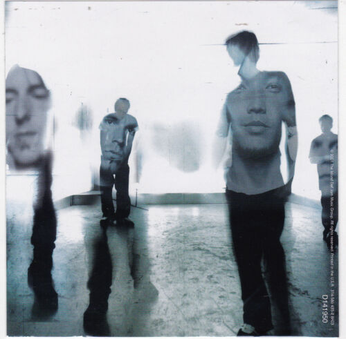 HOOBASTANK Band STICKER Album Cover Art Heavy Metal Music DECAL 2001