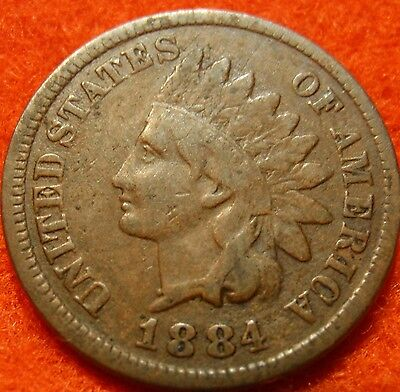 1884 W/LIBERTY INDIAN HEAD GREAT DETAILS