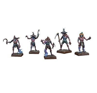 Kings of War Vanguard 5 Scarecrow sprue Mantic games nightstalker plastic frame
