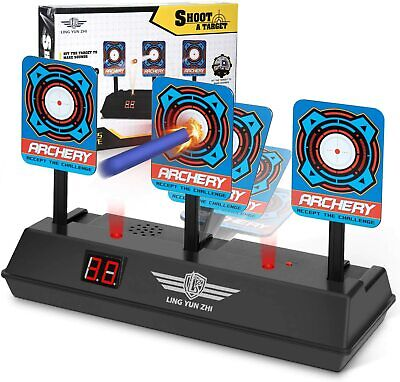 Electronic Targets, Auto Reset Digital Target Shooting Scoring For Nerf Guns