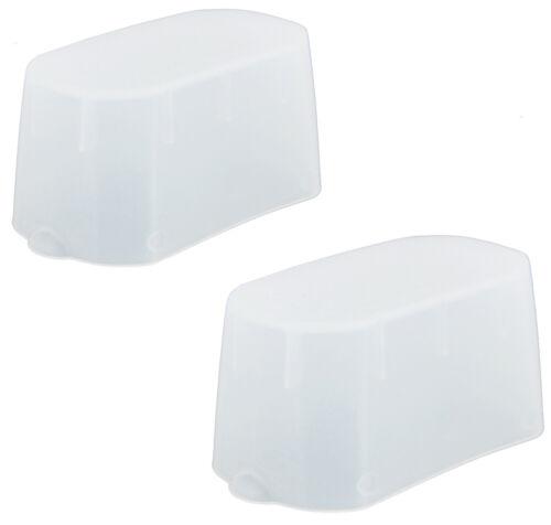 (2 Pack) JJC Flash Bounce Diffuser Cap Box for Nikon SB500 SB 500 AF Speedlight