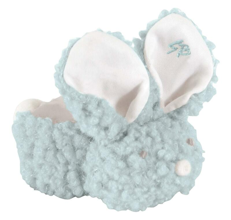 Boo Bunnie Comfort Toy and Boo Cube, Boy Blue Wooly Stephan Baby(692106)