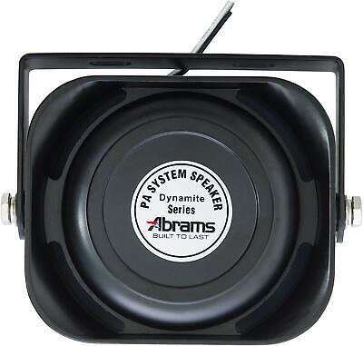 Abrams Slim 100 Watt Speaker Dynamite Abr-s100 5yr Warranty Sae J1849 Classa