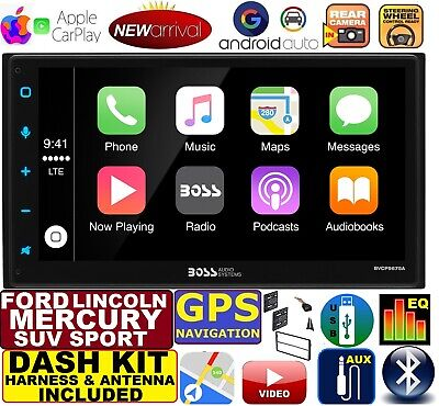 Apple Stereo-system (FORD LINCOLN MERCURY NAVIGATION SYSTEM APPLE CARPLAY ANDROID AUTO CAR STEREO)