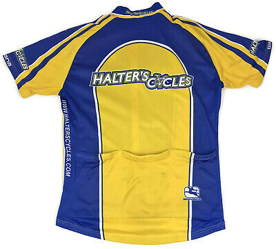 Giordana Cycling Bike Jersey Shirt Small Mens Short Sleeve 1 4 Zip Men Size  Sz S e398ed876