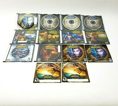 World of Warcraft Lot Cataclysm Wrath of the Lich King Burning Crusade + (World Of Warcraft Trial Of The Crusader)