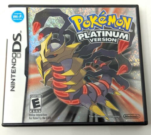 Pokemon Platinum Nintendo DS Authentic Game Case and Manual No Game