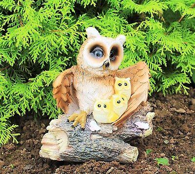 Solar Powered Decorative Garden Ornament Animal  Birds Bird  Owl Light Up