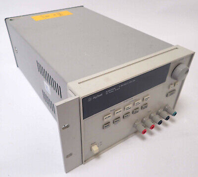 Agilent E3633a Programmable Dc Power Supply 0-8v 20a0-20v 10a 60vdc 115v Tested