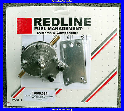Weber Redline Carburetor Universal Fuel Pressure Regulator 1.5 to 20 psi NEW