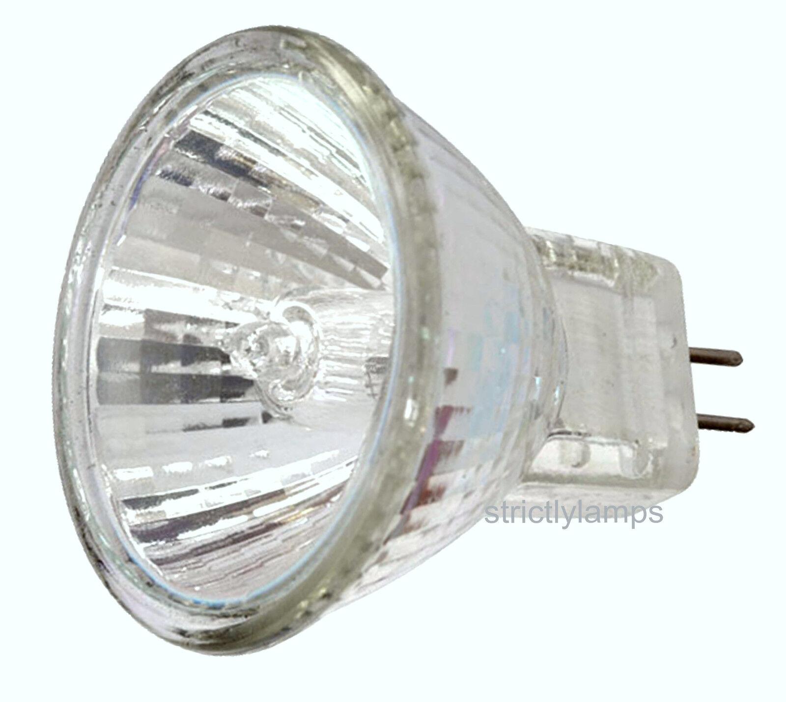 10 Mr11 20w Halogen Bulbs Spot Lamp 12v Free Deliverey Ebay