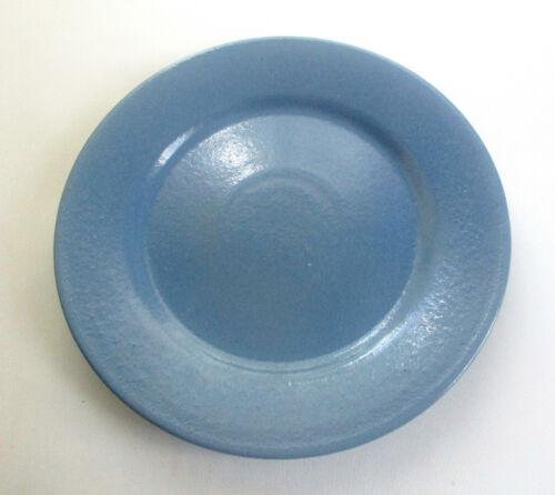 """Vintage Blue Paul Revere Pottery Plate 8 3/8"""""""