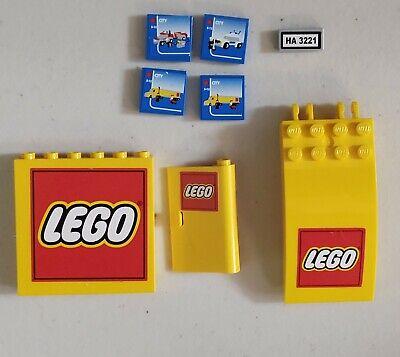 Lego Truck 3221 replacement parts Sticker Panel Door Tile Windscreen