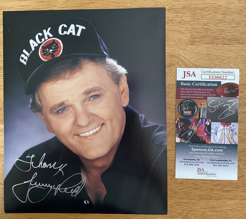 Jerry Reed Signed Autographed 8x10 Photo JSA Certified 1