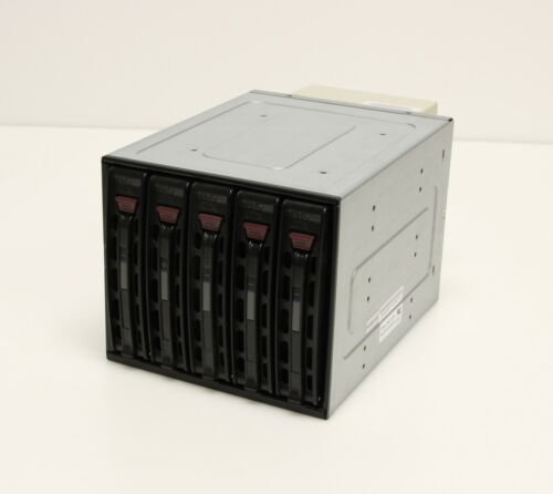 "Supermicro CSE-M35 3x5.25"" to 5x3.5"" Hot Swap SAS/SATA HDD Bay with Tray/Caddies"
