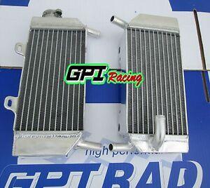 aluminum radiator  HONDA CRF250R/CRF250X 2004-2009 2008 2007 2006 2005
