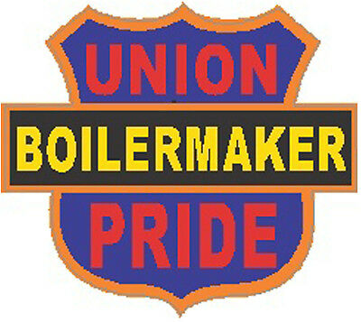 Boilermaker Union Pride Interstate Sign Sticker Cbm-17