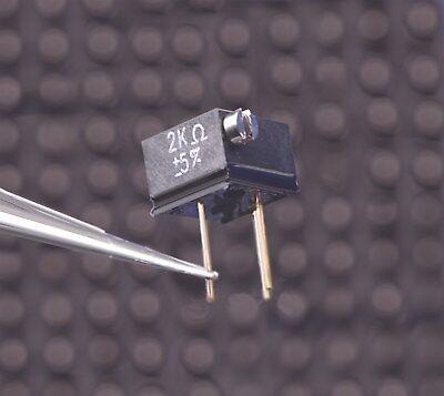 Vishay Bulk Metal Foil Ultra High Precision Potentiometer 2k Ohm Y00532k00000j0l