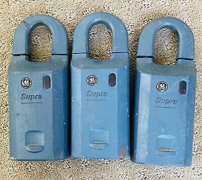 Ge Supra Ibox Lock Box Realtors Realtor Key Entry 3 Lock Boxes Euc