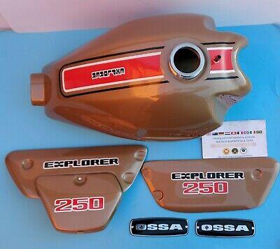 OSSA EXPLORER 250 GAS TANK + SIDE PANELS BODY KIT OSSA EXPLORER 250 KIT PARTS