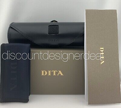 NEW DITA LEATHER ROLL UP CASE AUTHENTIC EYEWEAR EYEGLASSES GLASSES (Roll Up Sunglasses)