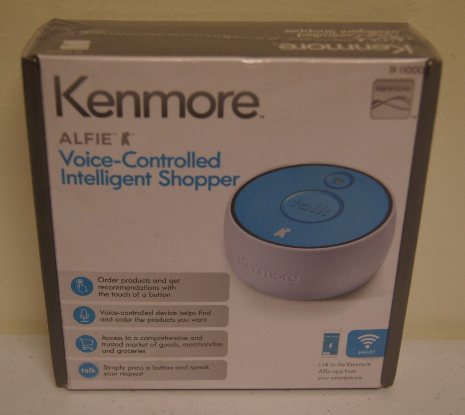 "New! Sears Kenmore ""Alfie"" Voice Controlled Intelligent Shopper"