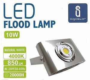 Foco proyector led 10 w mas luz bajo consumo escaparates - Focos de bajo consumo para exterior ...