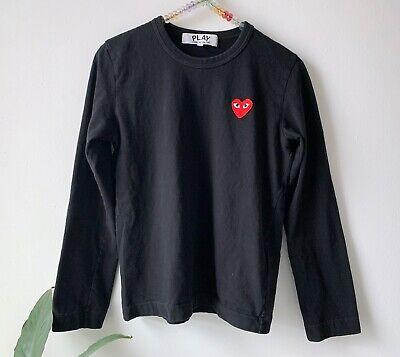 Comme Des Garçons - Play heart logo t-shirt - Size M