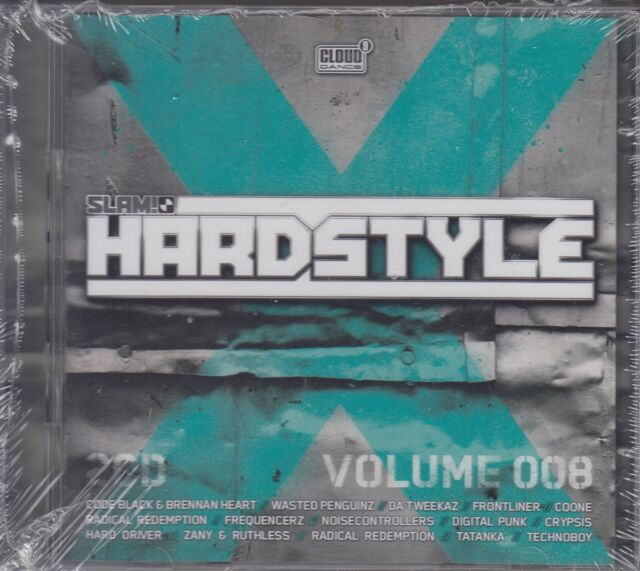 Slam! Hardstyle Vol.8 - The Anarchist, Zany & Ruthless u.a. (2 CDs, NEU! OVP)