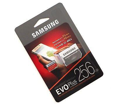 Samsung EVO Plus 256GB MicroSDCard 4K Ultra HD