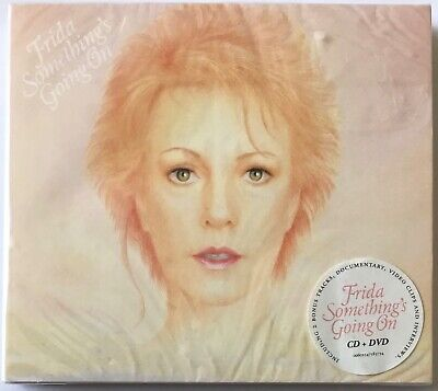 Frida [Abba] - Something's Going On (CD & DVD Deluxe Edition 2015 New Sealed)