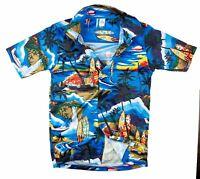 Halle 15 Clothes Hawaihemd Blue Surfer H15 Hawai Shirt Nordrhein-Westfalen - Gescher Vorschau