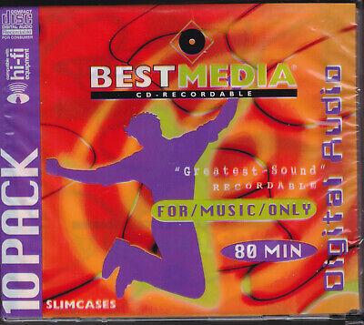BestMedia Audio CD AUDIO FOR MUSIC ONLY 10 STÜCK NEU + OVP