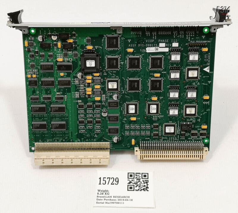 15729 Lam Research Pcb Viop Phase Iii 810-099175-013