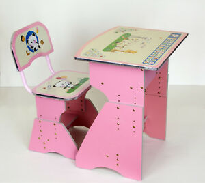 girls desk furniture. Childrens Kids Girls Pink Desk Table And Chair Adjustable Height Alphabet  Design Girls Desk Furniture