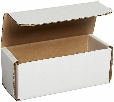50- 6 X 2 12 X 2 38 Small White Cardboard Carton Mailer Mailing Shipping Boxes