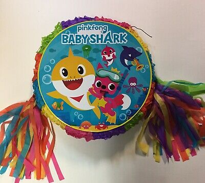Baby Shark**  Pinata..Party Game ,Party Decoration FREE - Baby Pinatas