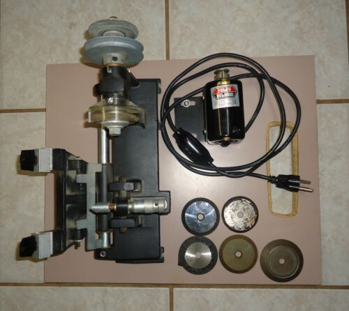 Foley Belsaw  Model 200 Key Machine Foley Belsaw Motor With 5 Extra Cutters