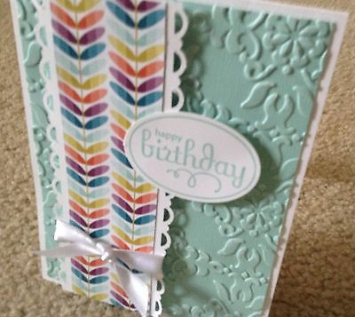 Birthday Card Kit with Envelopes. Stampin Up Pool Party