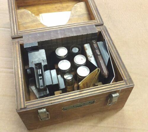 Service Diamond Hardness Tester Spare parts box Testing Tool set Blocks Plate
