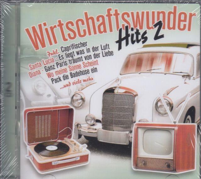 Wirtschaftswunder-Hits 2 - Heesters, Rothenberger u.a. (2 CDs, NEU! OVP)