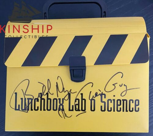 Bill Nye signed Lunchbox JSA COA Inscribed The Science Guy Rare Z532