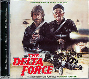 lvestri The Delta Force Score Quartet Spain 1000 Ltd 2CD Sold Out SEALED