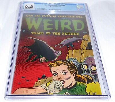 Weird Tales of the Future #4 CGC Universal Grade Comic Golden Age Aragon PreCode
