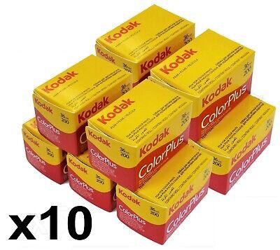 Kodak 6031470 135/36 ColorPlus 35mm 135 36 200 asa  Film 10 Rolls Exp 06- 2022