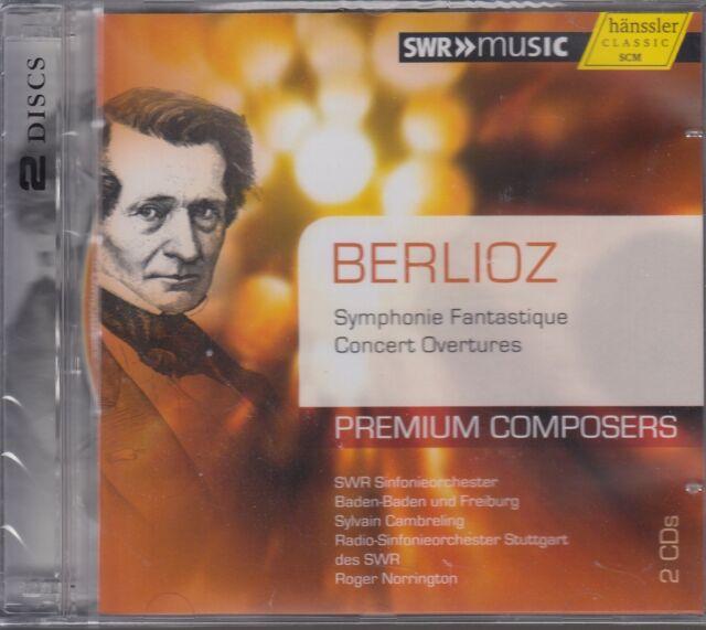 SWR - Norrington -Premium Composers: Berlioz - Symphonie Fantastique (2CDs, NEU)