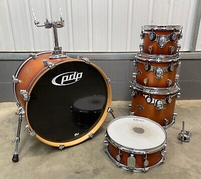 PDP Pacific FS Series 5 Piece Fusion Size Drum Kit Shell Pack / Matt Finish
