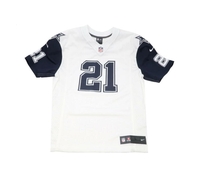 Nike Youths Color Rush Big Kids #21 Elliott Dallas Cowboys Game Replica Jersey